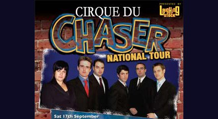 The Chaser's Cirque du Chaser National Tour